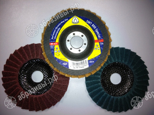Abrasive mop disc 125mm SMT 800 Coarse