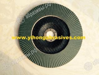 Круг лепестковый торцевой 125мм по нержавеющей стали
