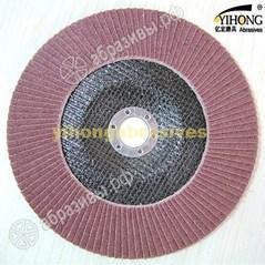 Круг лепестковый торцевой с ламелями из оксида алюминия  Р 40 - 320
