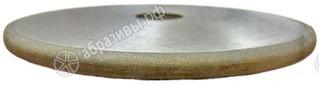 Круг алмазный шлифовальный плоский с полукруглый выпуклым профилем 1FF1