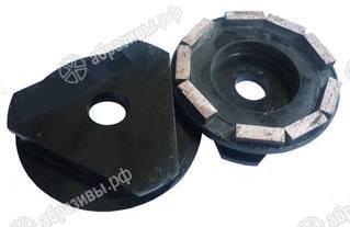 Фреза алмазная шлифовальная (с треуг. хвостовиком) d.95 мм для СО