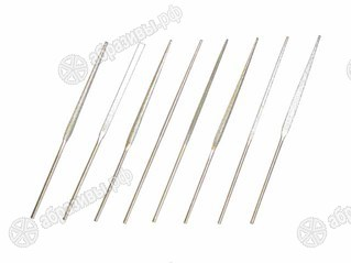 Надфили алмазные L160 80/63