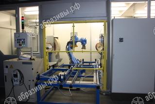 Роботизированные шлифовально — полировальные комплекс ячейки
