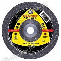 Обдирочный диск 125X6X22,23 A24R SUPRA Kronenflex