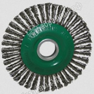 Щетка дисковая жгутовая по нержавеющей стали 125x22
