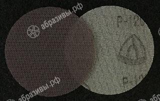 Круг из шлифовальной сетки на липучке 125мм Р120
