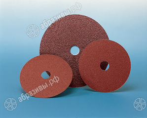 Шлифовальный диск на фибровой основе SAIT по металлу