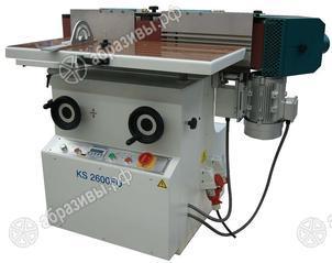 Кромко-шлифовальный станок для обработки шпона Wegoma KS2600FU